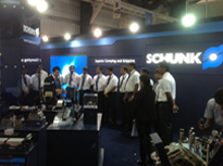 Schunk - Intex 2013, Bangalore